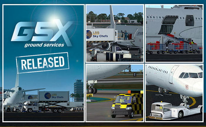 FSDreamTeam GSX Ground Services.