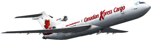 Canadian Xpress® Boeing 727-200F