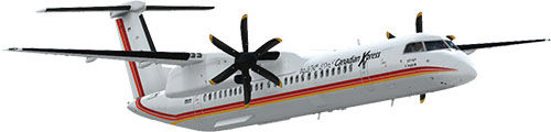 Canadian Xpress® Bombardier Dash 8-Q400 Air Inuit Tour Livery