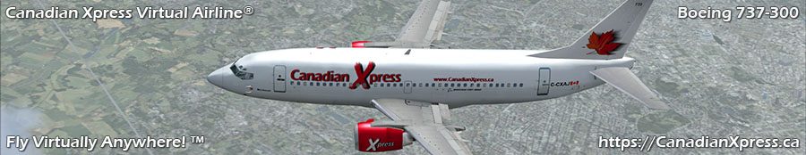 Canadian Xpress® Boeing 737-300