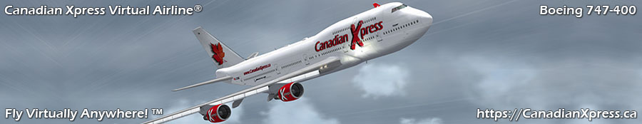 Canadian Xpress® Boeing 747-400