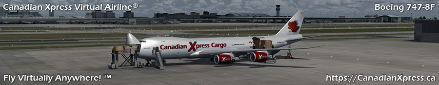 Canadian Xpress® Boeing 747-8F