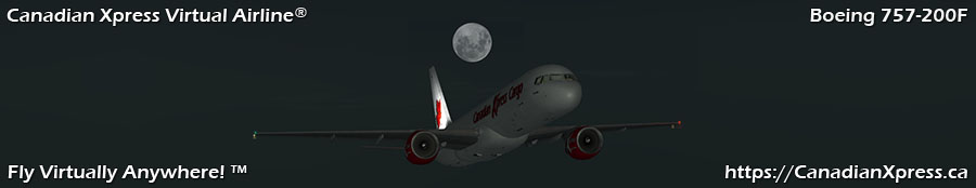 Canadian Xpress® Boeing 757-200F