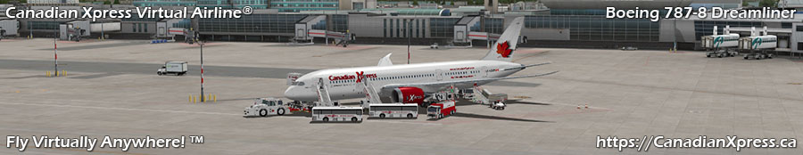 Canadian Xpress® Boeing 787-8 Dreamliner