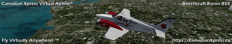 Canadian Xpress® Beechcraft Baron B55