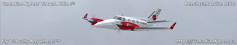 Canadian Xpress® Beechcraft Duke B60