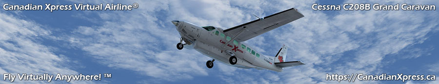Canadian Xpress® Cessna C208B Grand Caravan