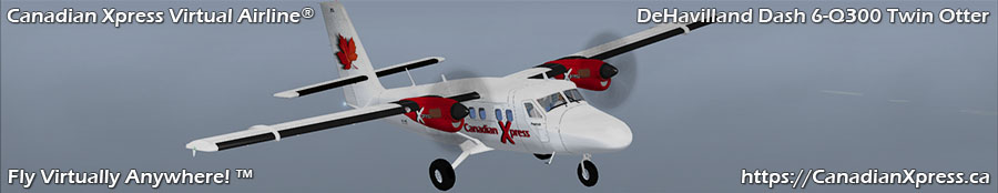 Canadian Xpress® DeHavilland Dash 6-Q300 Twin Otter