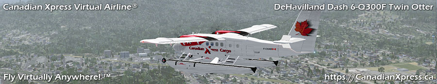 Canadian Xpress® DeHavilland Dash 6-Q300F Twin Otter