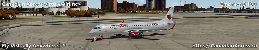 Canadian Xpress® Embraer ERJ-190LR