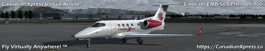 Canadian Xpress® Embraer EMB505 Phenom 300