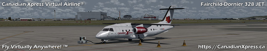 Canadian Xpress® Fairchild-Dornier 328 JET