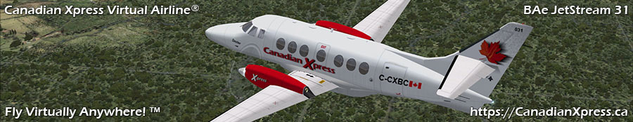 Canadian Xpress® BAe JetStream 31