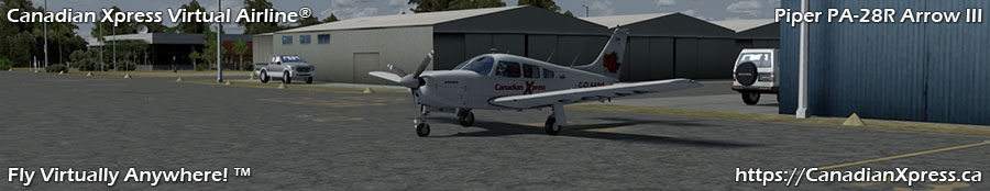 Canadian Xpress® Piper PA28 Arrow III