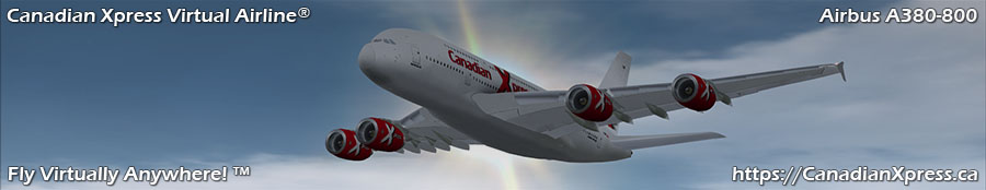 Canadian Xpress® Airbus A380-800