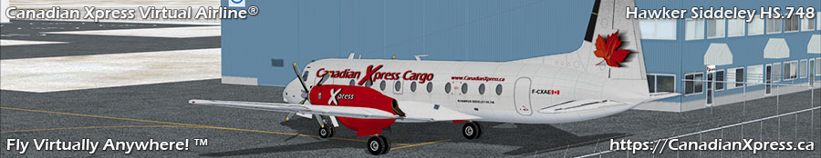 Canadian Xpress® Hawker Siddeley HS.748