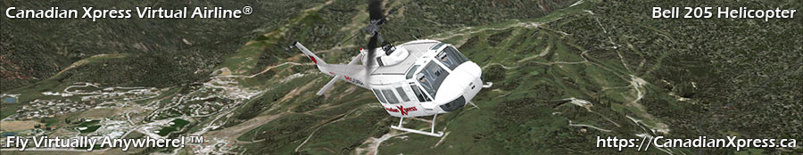 Canadian Xpress® Bell 205 Huey Helicopter