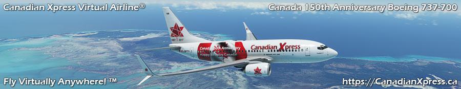 Canadian Xpress® Boeing 737-700NG
