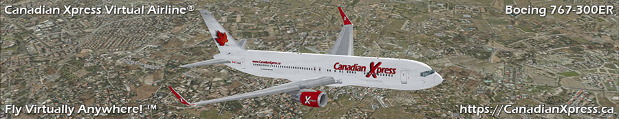 Canadian Xpress® Boeing 767-300 with Winglets