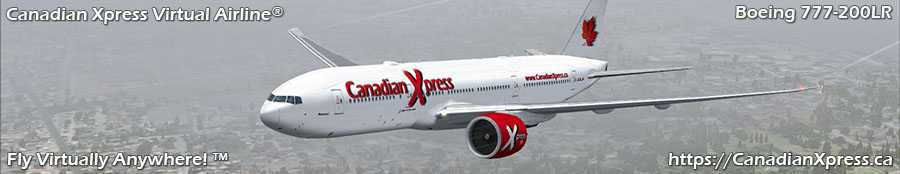 Canadian Xpress® Boeing 777-200LR