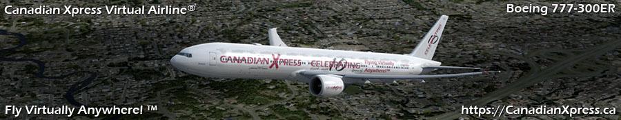 Canadian Xpress® Boeing 777-300ER