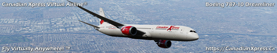 Canadian Xpress® Boeing 787-10 Dreamliner