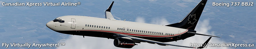 Canadian Xpress® Boeing 737 BBJ2