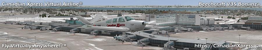 Canadian Xpress® Beechcraft V35 Bonanza