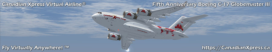 Canadian Xpress® Boeing C-17 Globemaster III