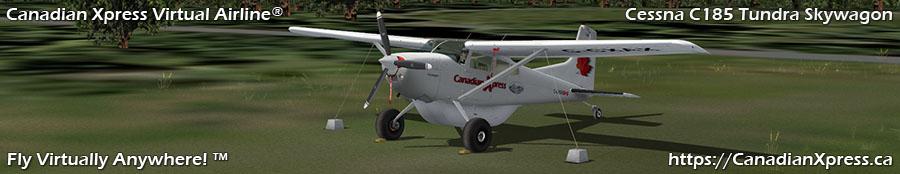 Canadian Xpress® Cessna C-185 Tundra