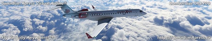 Canadian Xpress® Bombardier CRJ-700