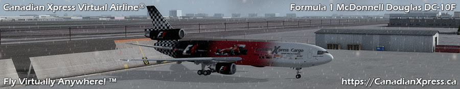 Canadian Xpress® Formula 1 McDonnell Douglas DC-10F