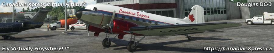 Canadian Xpress® Douglas DC-3