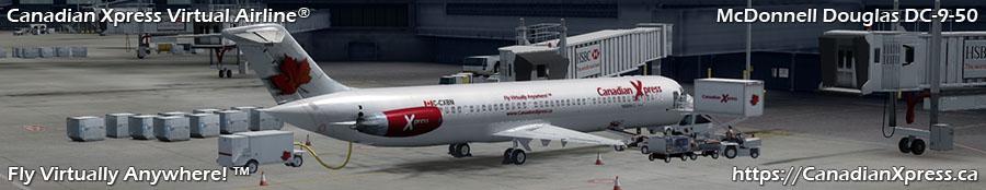Canadian Xpress® McDonnell Douglas DC-9-50