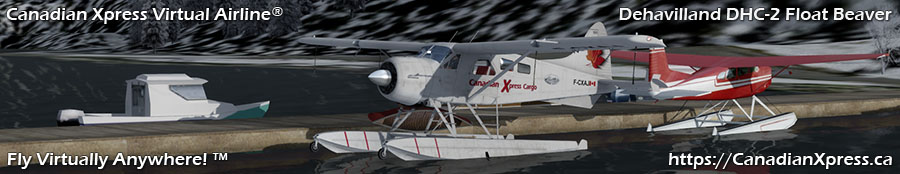 Canadian Xpress® DeHavilland DHC-2 Float Beaver