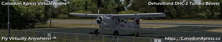 Canadian Xpress® DeHavilland DHC-2 Tundra Beaver