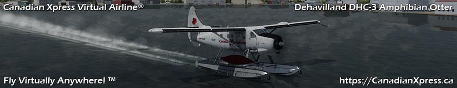 Canadian Xpress® DeHavilland DHC-3 Amphibian Otter
