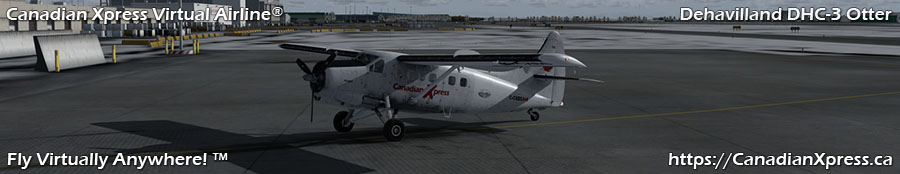 Canadian Xpress® DeHavilland DHC-3 Otter