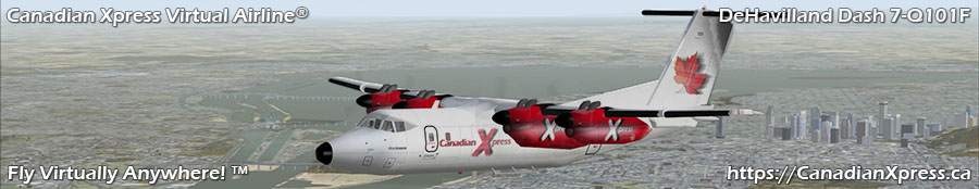 Canadian Xpress® DeHavilland Dash 7-Q101F