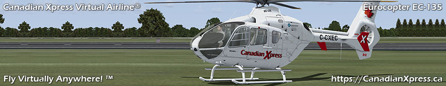 Canadian Xpress® Eurocopter EC-135