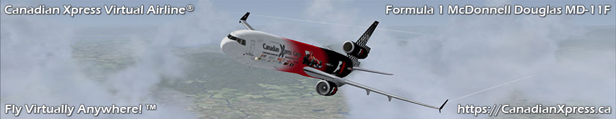 Canadian Xpress® Formula 1 McDonnell Douglas MD-11F