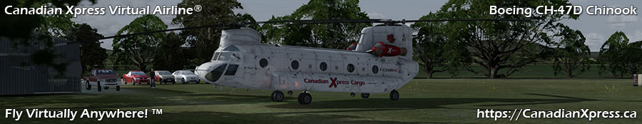 Canadian Xpress® Boeing CH-47D Chinook