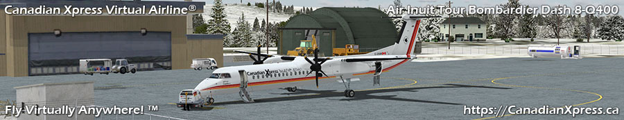 Canadian Xpress® Air Inuit Tour Bombardier Dash 8-Q400