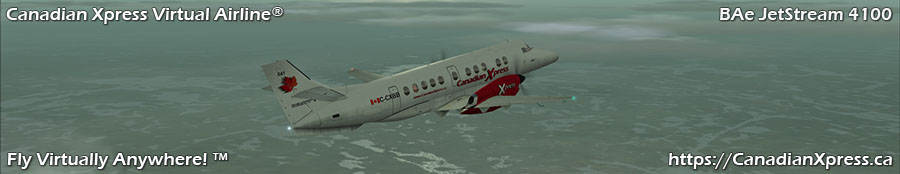 Canadian Xpress® BAe JetStream 4100