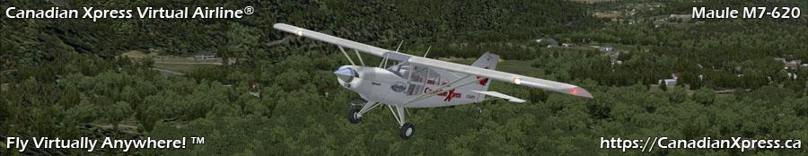 Canadian Xpress® Maule M7-260 Taildragger