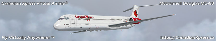 Canadian Xpress® McDonnell Douglas MD-83