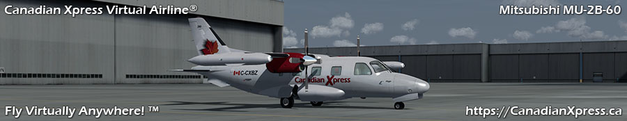 Canadian Xpress® Mitsubishi MU-2B-60