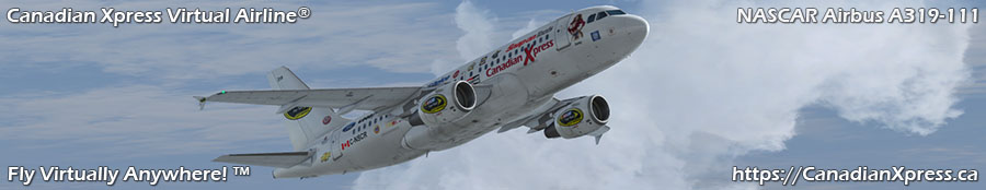 Canadian Xpress® NASCAR Airbus A319-111