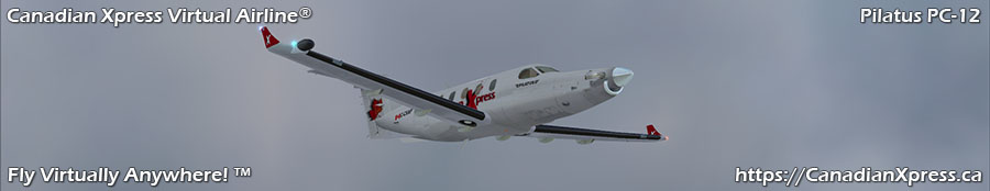 Canadian Xpress® Pilatus PC-12