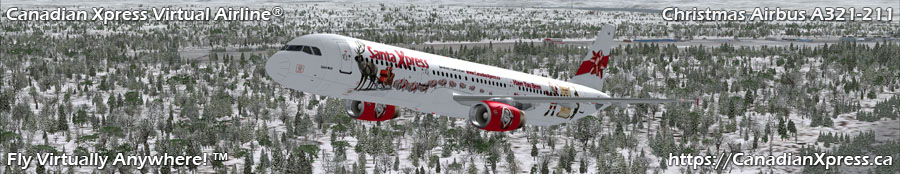 Canadian Xpress® Christmas Airbus A321-231
